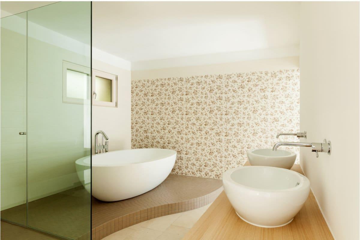 Keukenkast landelijk ontwerp - Behang voor trappenhuis ...