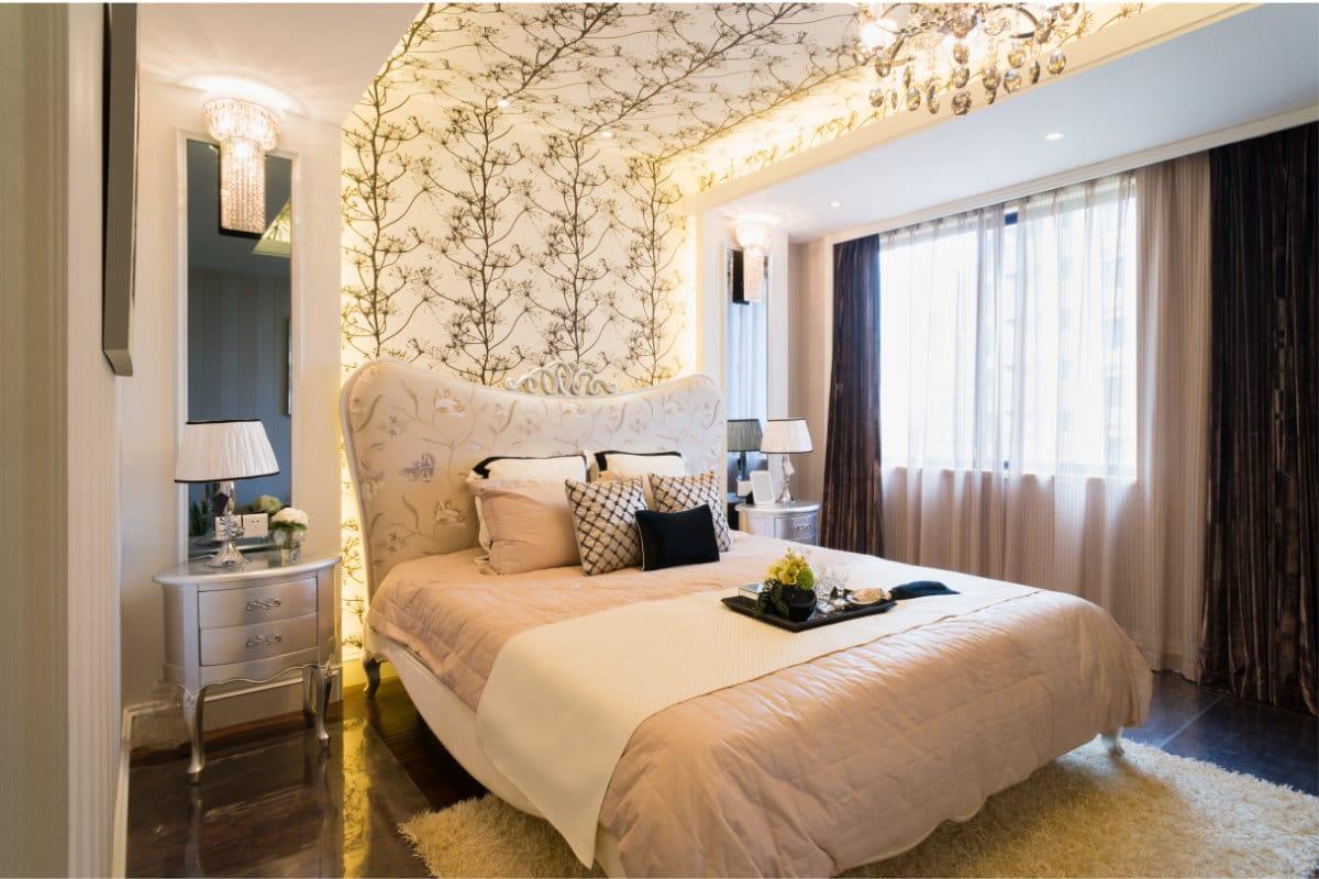 Leuk Behang Slaapkamer : Retro behang: inspirerende voorbeelden tips & prijzen
